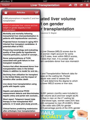 LiverTransplantationArticles