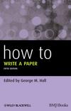 How to Write a Paper 5e