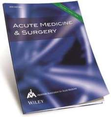 Acute Medicine and Surgery 2014 new journal