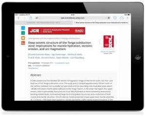 iPad AA screenshot 1
