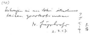 収録されたサインの例