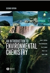 An Introduction to Environmental Chemistry, 2nd Edition